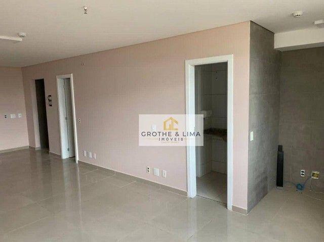 Linda sala comercial 44m², 2 banheiros no centro de São José dos Campos - SP - Foto 6