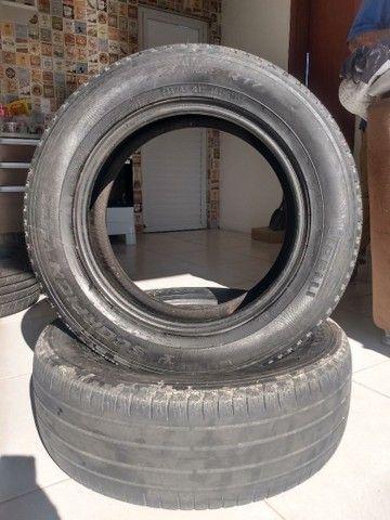 Vendo 2 pneus Pirelli meia vida 225/55-17
