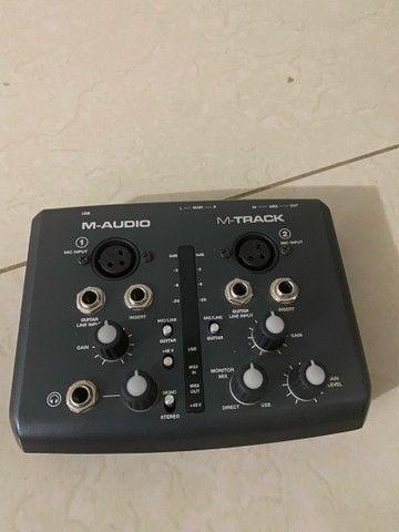 Interface de Audio M-Audio M-Track - Foto 2