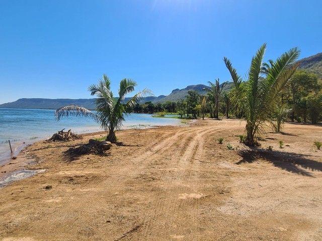 Lançamento chácaras beira lago individual parceladas no boleto  - Foto 7