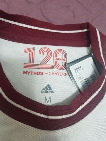 Camisa Original Adidas - Bayer de Munich - Foto 4