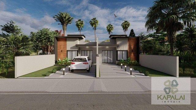 Casa com 2 dormitórios à venda, 62 m² por R$ 269.000 - Itajuba - Barra Velha/SC - Foto 2