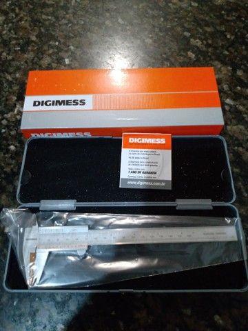 Paquímetro digimess 150 mm novo na caixa