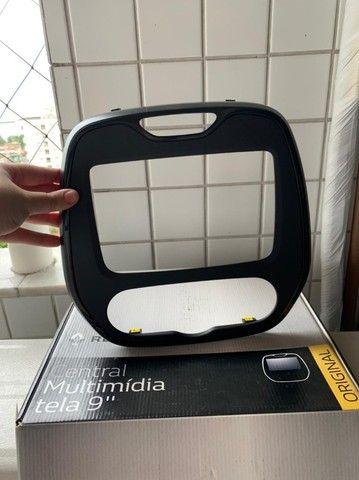 Moldura para multimídia com tela de 9'' Polegadas - Renault Captur