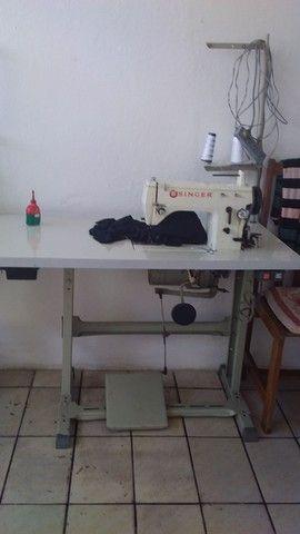 Maquina de costura singer industrial zig zag