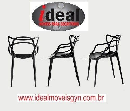Cadeira  Deccor  Allegra Ideal Móveis Goiânia ? Escritórios - Foto 4