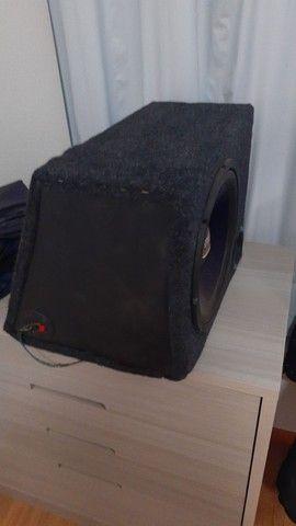 Caixa com auto falante street Bass Selenium de 12