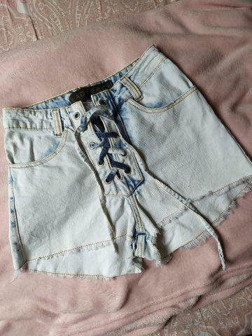 Shorts jeans tam 36 - Foto 3