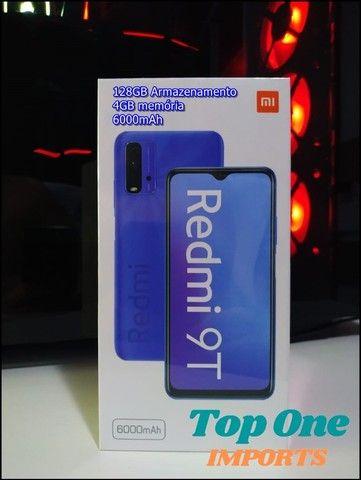 Celular Xiaomi Redmi 9T 128GB 4GB 12x Sem Juros (Novo Lacrado)