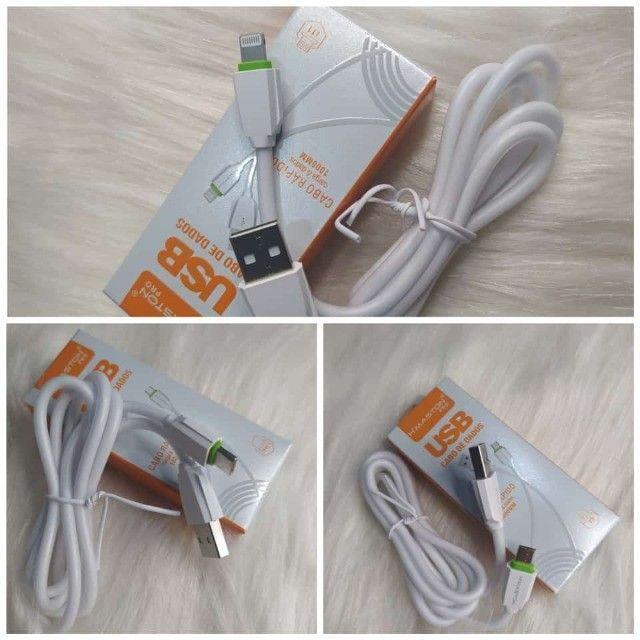 Cabo Micro Usb V8,Tipo C e Iphone i11 - Foto 2