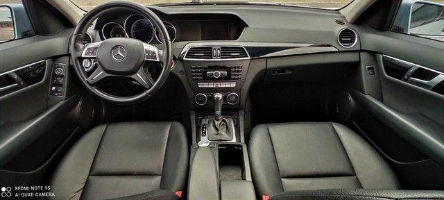Mercedes Benz C 180 1.6 CGI Turbo, Revisões na Consessionária e Baixa KM - Foto 7