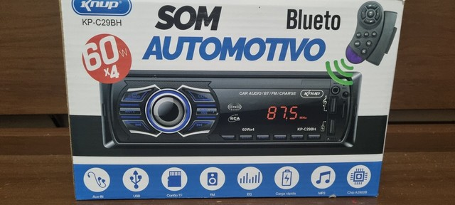 Som automótivo  com Bluetooth  - Foto 2