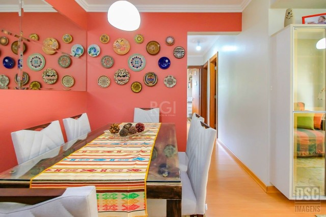 Apartamento à venda com 3 dormitórios em Jardim carvalho, Porto alegre cod:EV4667 - Foto 2