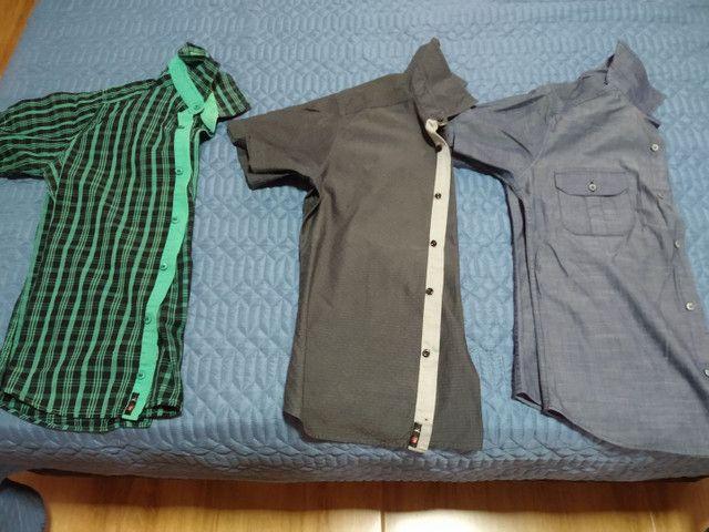 Camisas tamanho P - Foto 3