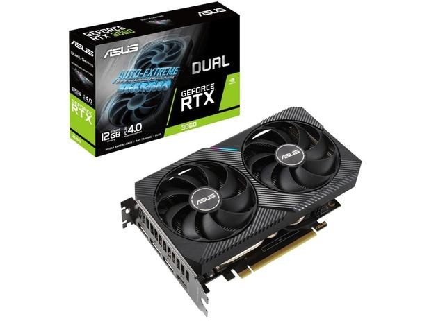 RTX 3060 extreme asus dual fan