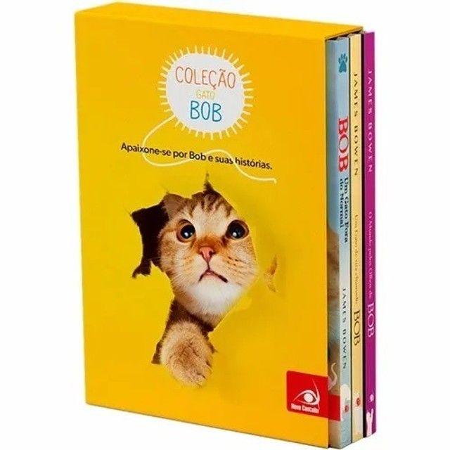 Box Coleção Gato Bob - 03 Livros