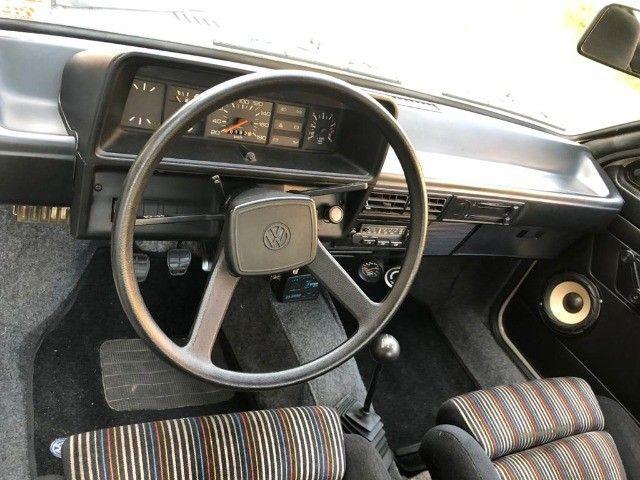 Vendo Gol BX 1985 Dupla carburação turbo - Foto 15