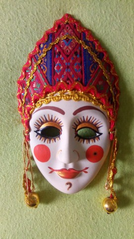 Coleção de mascaras Italianas em porcelana; - Foto 5