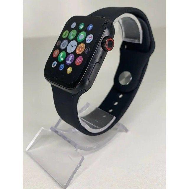 Smartwatch IWO X8 Original Tela Digital Touch 44mm Versão 2021 *Entrega Grátis Fortaleza* - Foto 3
