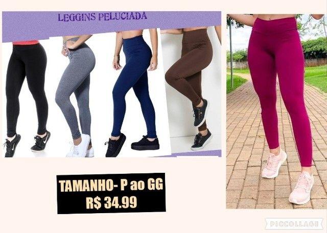 Legging Peluciada/Flanelada feminina  varias cores P ao GG e G1 ao G3 - Foto 5