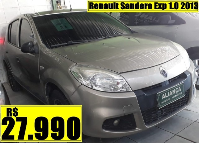 Renault Sandero Exp 1.0 2013