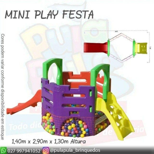 Venda Playground Petit Play com balanço colorido - Apenas por encomenda - Foto 3