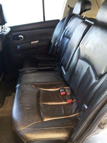 Nissan Tida 1.8 SL Manual + Couro + Teto  ( Veiculo Impecável ) - Foto 10