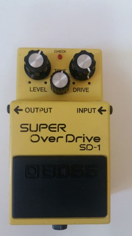 Pedal Boss Super Overdrive SD1