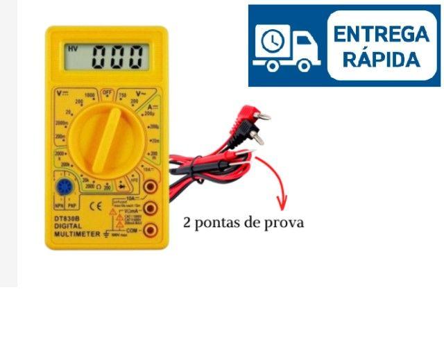 Multímetro Digital DT-830D  + Bateria - Foto 3