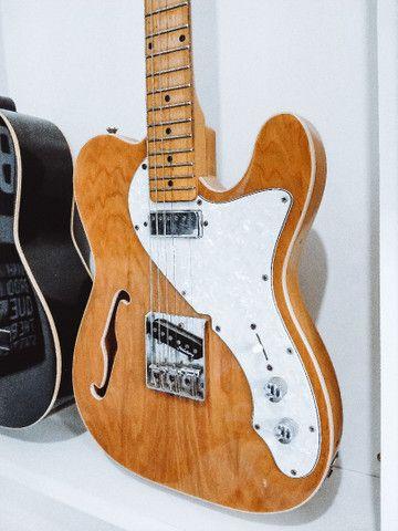 Guitarra Strinberg CLC89 Telecaster Natural - Foto 3