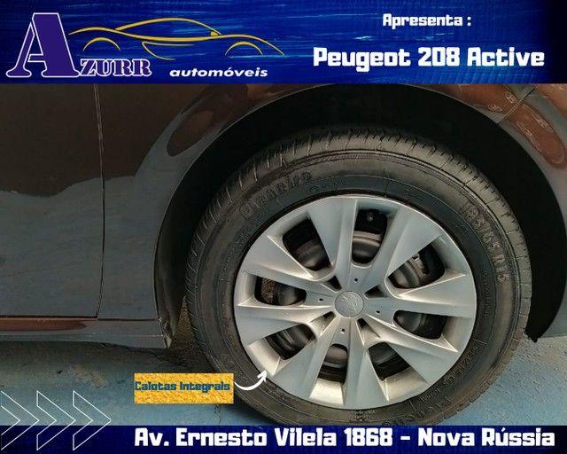 PEUGEOT 208 ACTIV COMPLETO 1.5 FLEX REVISADO GARANTIA BAIXA KM IMPECÁVEL   - Foto 6
