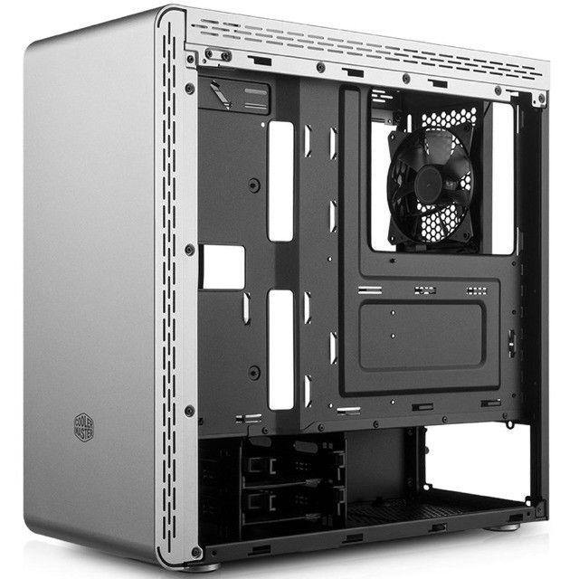 Gabinete Gamer Cooler Master MasterBox MS600 Vidro Temperado Branco - Loja Natan Abreu  - Foto 5