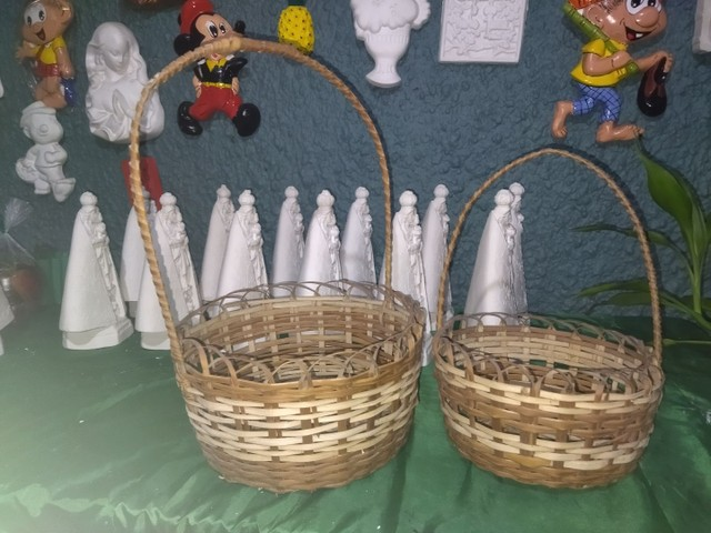 Vendo cestas de Vimi todas lindas diferenciadas - Foto 3