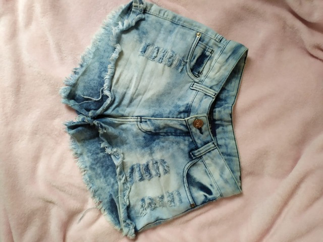 Shorts jeans tam 36 - Foto 4