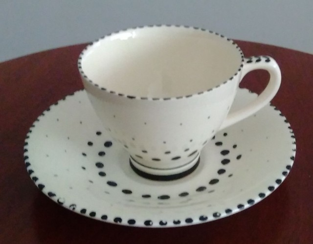 Xícara porcelana Holandesa.