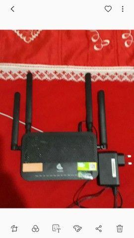 Roteador com 4 antenas da oi - Foto 6