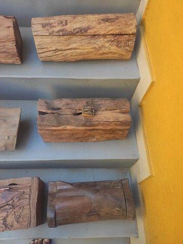 Baús em madeira rústica - Foto 3