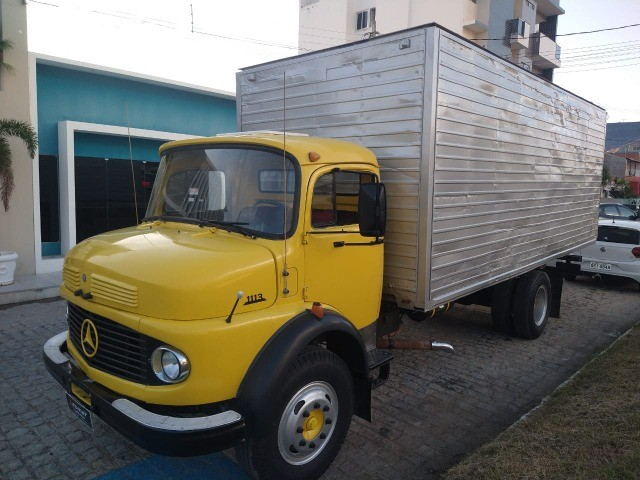 Mercedes 1113 ano 81 extra... - Foto 2