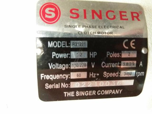 Máquina Costura Industrial Singer 191D-20