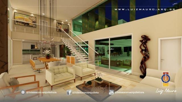 Condomínio Florais dos Lagos, casa Sobrado com 4 suites, em fase de construção - Foto 6