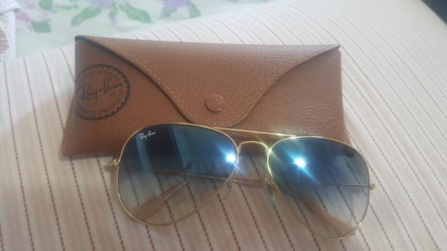 Oculos ray ban, aviator Degradê - Bijouterias, relógios e acessórios ... 79f4aa35dd