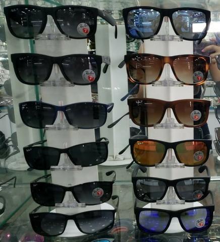 062d8fef25b39 Promoção  Oculos De Sol Ray Ban Justin Rb4165 622 8G 3P Polarizada ...