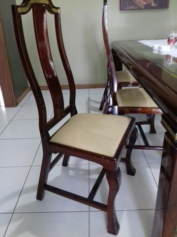 Mesa de jantar com 8 cadeira - Foto 4