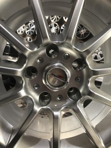Roda Aro 16 Furação 5x120 Nova compatível S10 Blazer BMW - Foto 3
