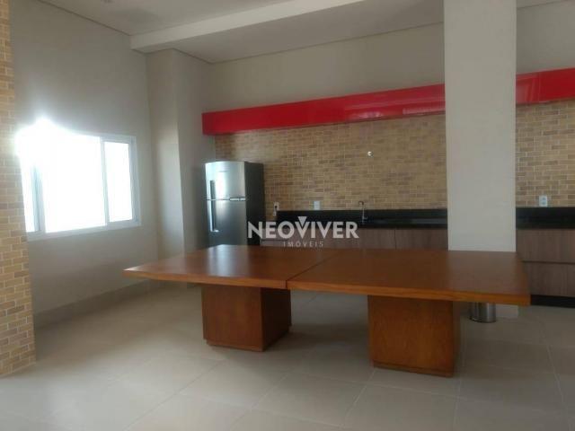 Residencial matriz -apartamento com 3 dormitórios à venda, 103 m² por r$ 495.000 - setor b - Foto 19
