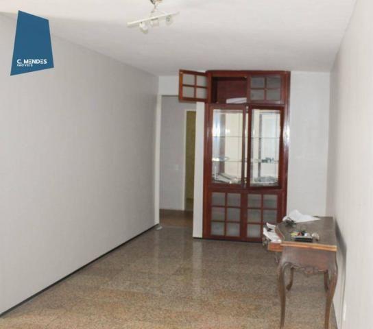 Apartamento com 3 dormitórios para alugar, 100 m² por R$ 1.600/mês - Papicu - Fortaleza/CE - Foto 4