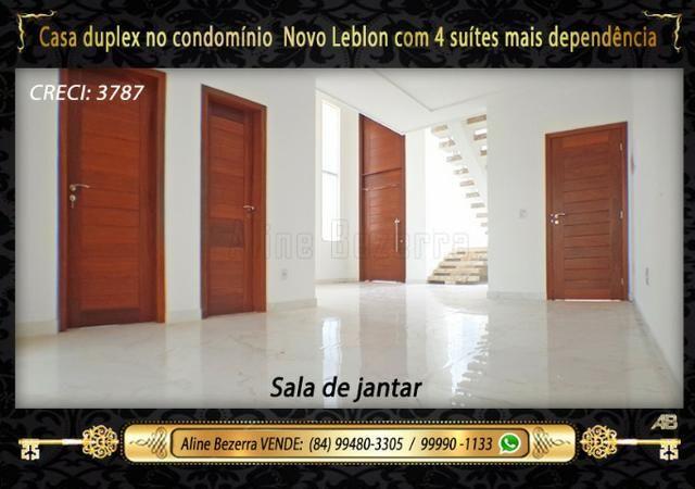 Duplex com 5 suítes no condomínio Novo Leblon, confira - Foto 4
