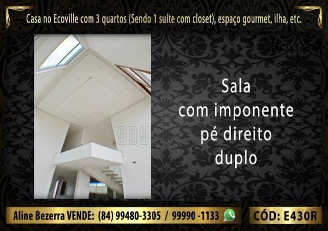 Oportunidade, duplex no Ecoville, com 3 quartos, cozinha com ilha, sala alta, confira - Foto 5