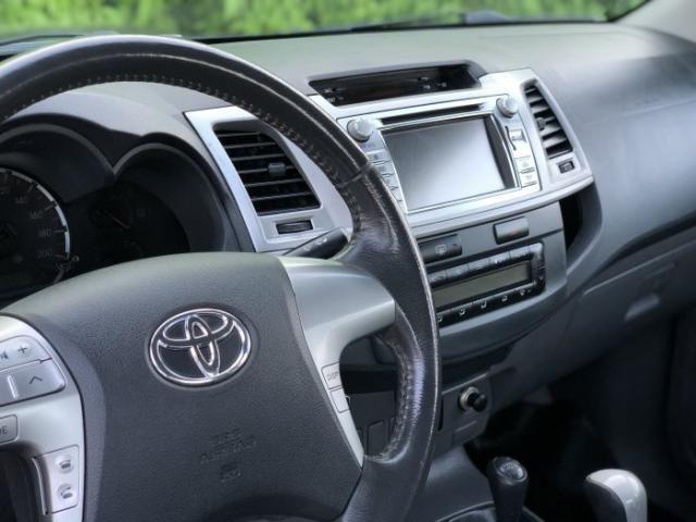 Toyota hilux 2013 3.0 srv 4x4 cd 16v turbo intercooler diesel 4p automÁtico - Foto 11