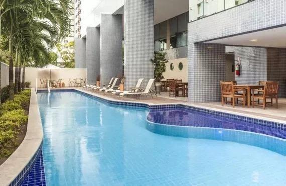 Bristol - Apartamento tipo Flat 58m2, 2 quartos, lazer, vaga, Boa Viagem - Foto 13